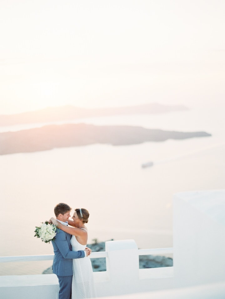 Santorini Santo Winery Destination Wedding Photography